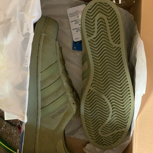 adidas superstar camo green